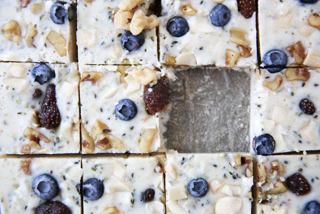 PaleOMG Breakfast Yogurt Freezer Squares