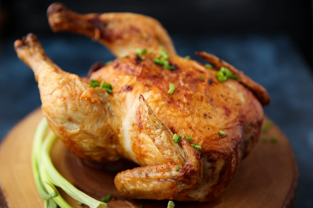 PaleOMG Air Fryer Rotisserie Chicken
