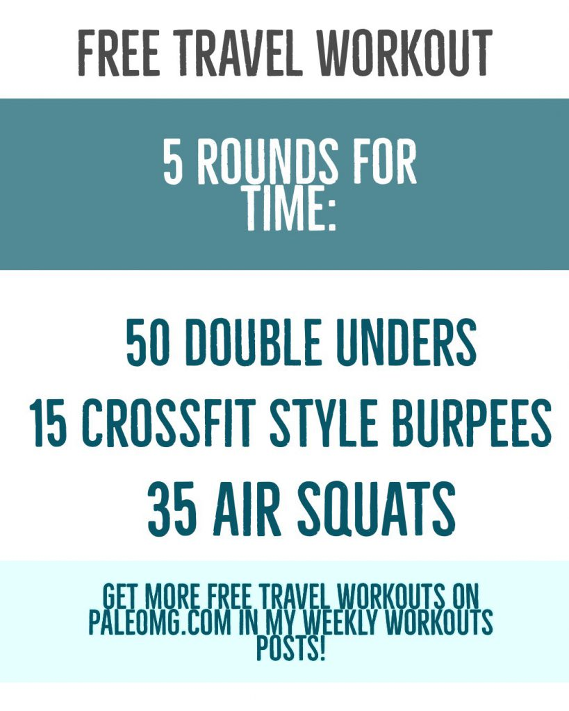 Weekly Workouts + What I Ate in a Day