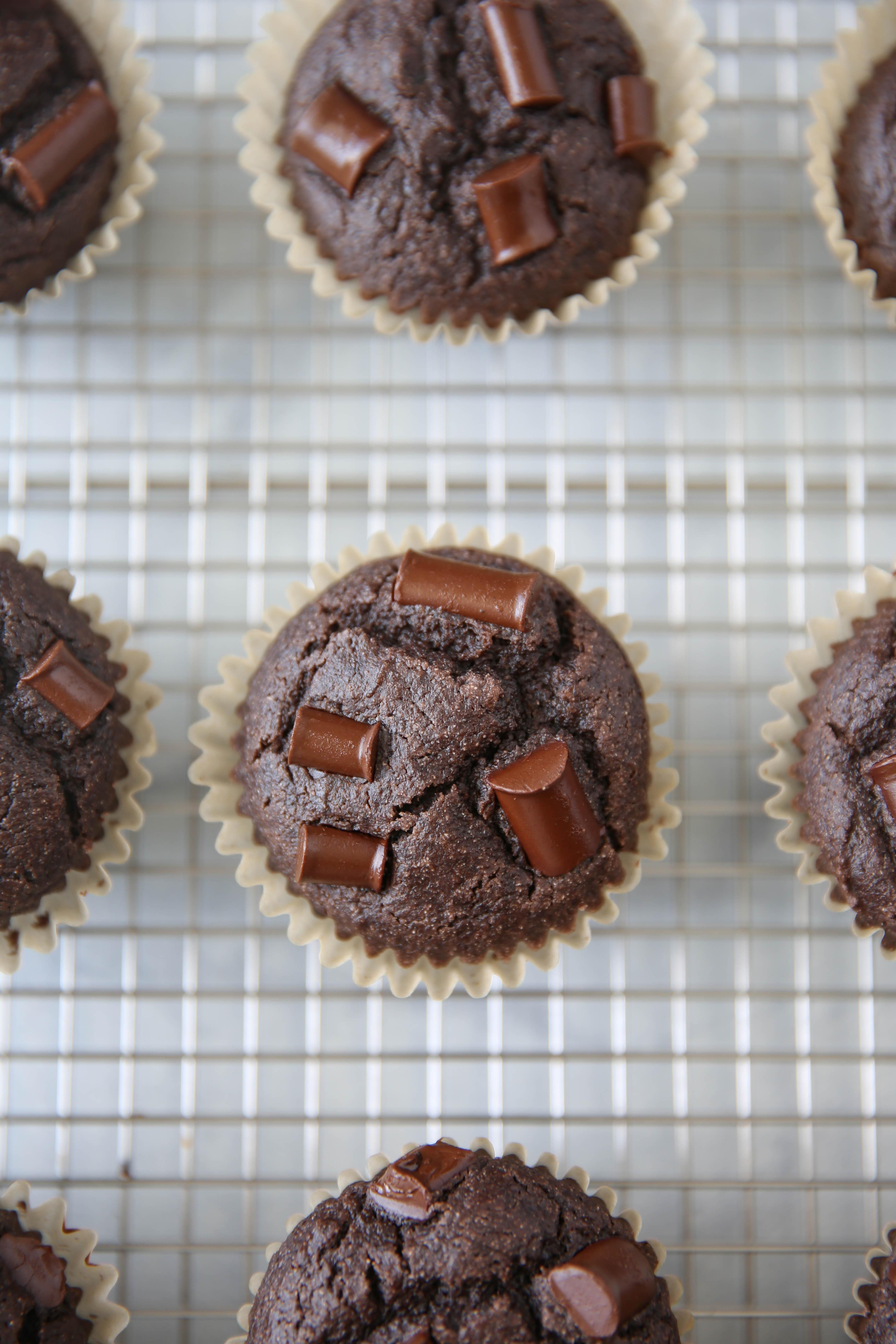PaleOMG Double Chocolate Greek Yogurt Muffins (yes, dairy-free)