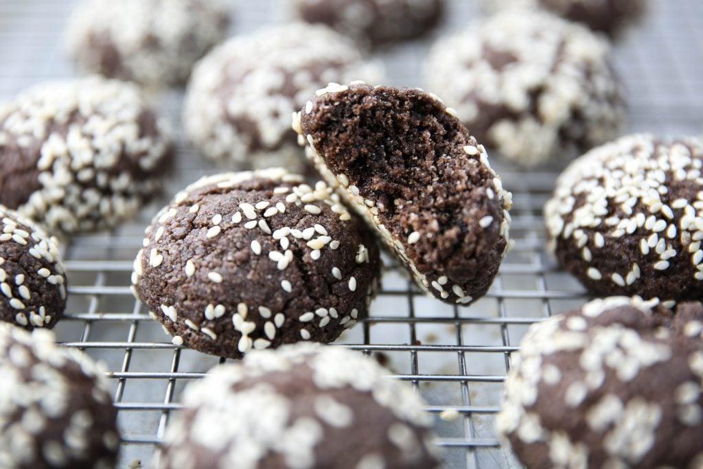 PaleOMG Chocolate Tahini Cookies