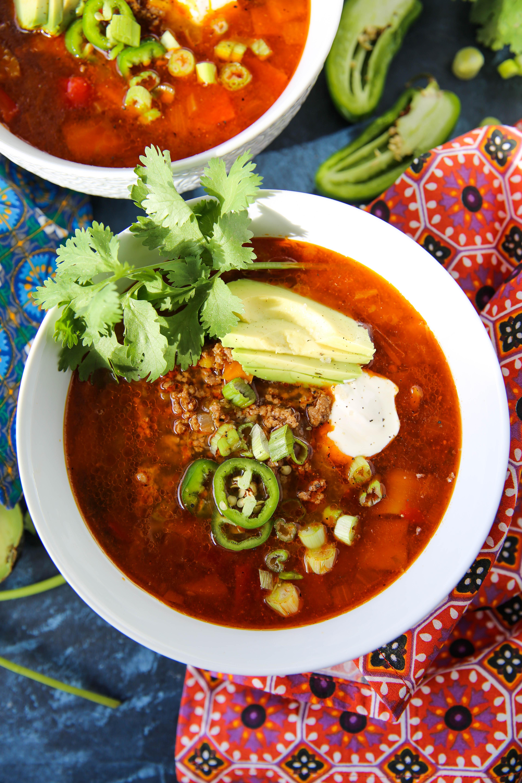 PaleOMG Instant Pot Taco Soup