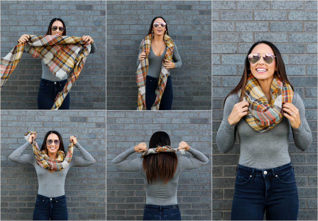 PaleOMG - The Best Three Ways to Tie a Blanket Scarf (video!)
