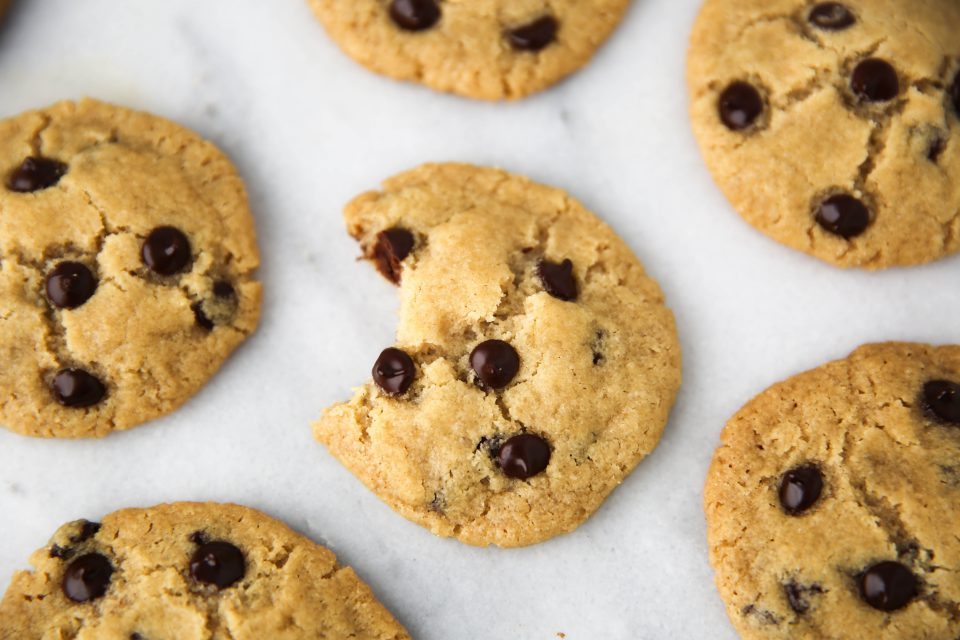 Egg And Nut Free Chocolate Chip Cookies