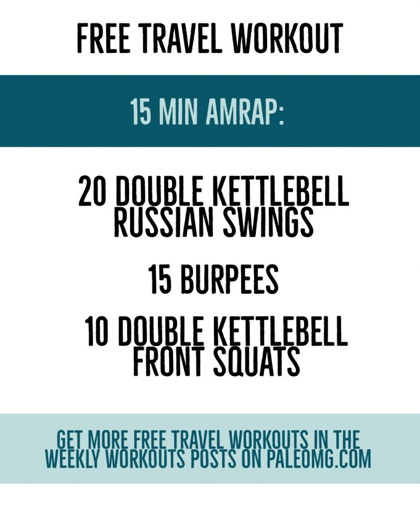 PaleOMG Travel Workout