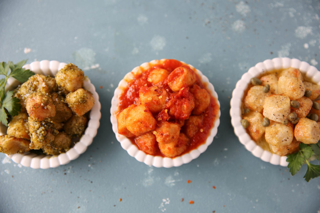 PaleOMG Easy Air Fryer Gnocchi Three Ways