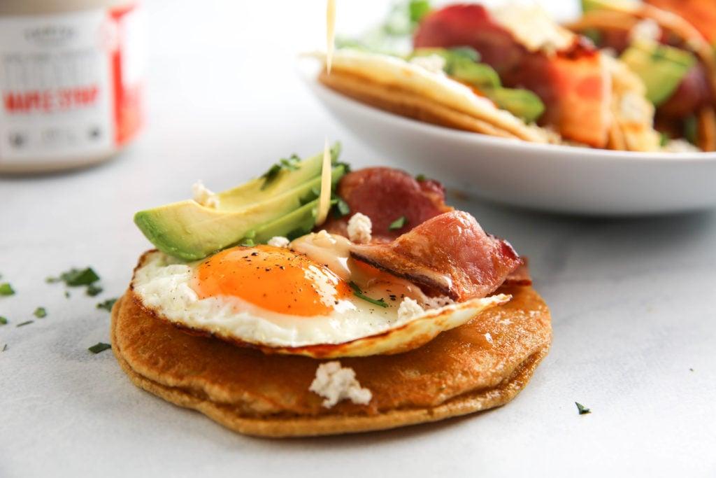 PaleOMG Pancake Breakfast Tacos