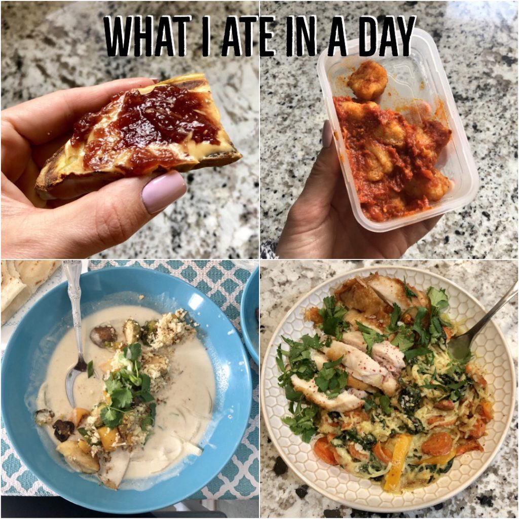 PaleOMG What I Ate in a Day