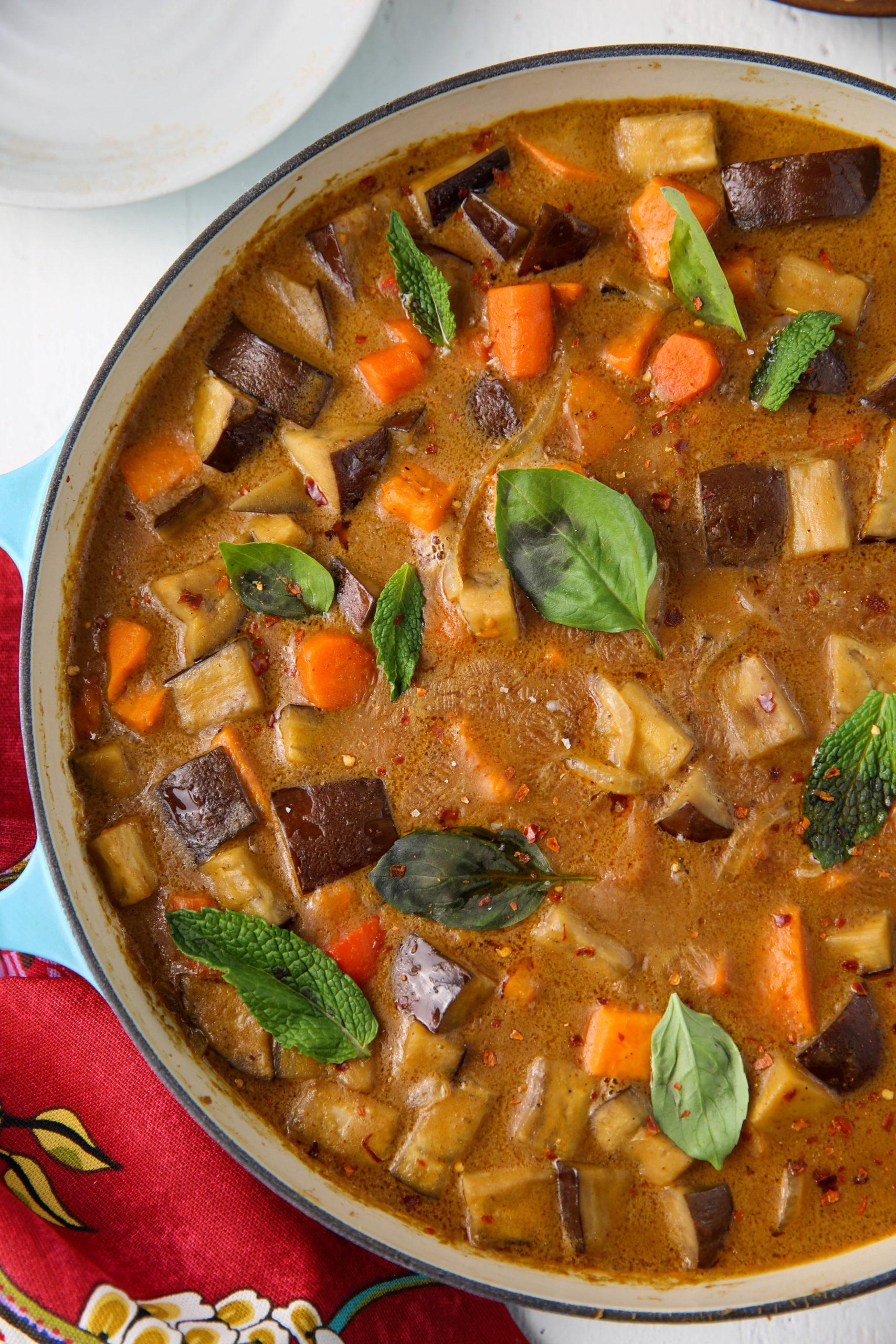PaleOMG Eggplant Panang Curry