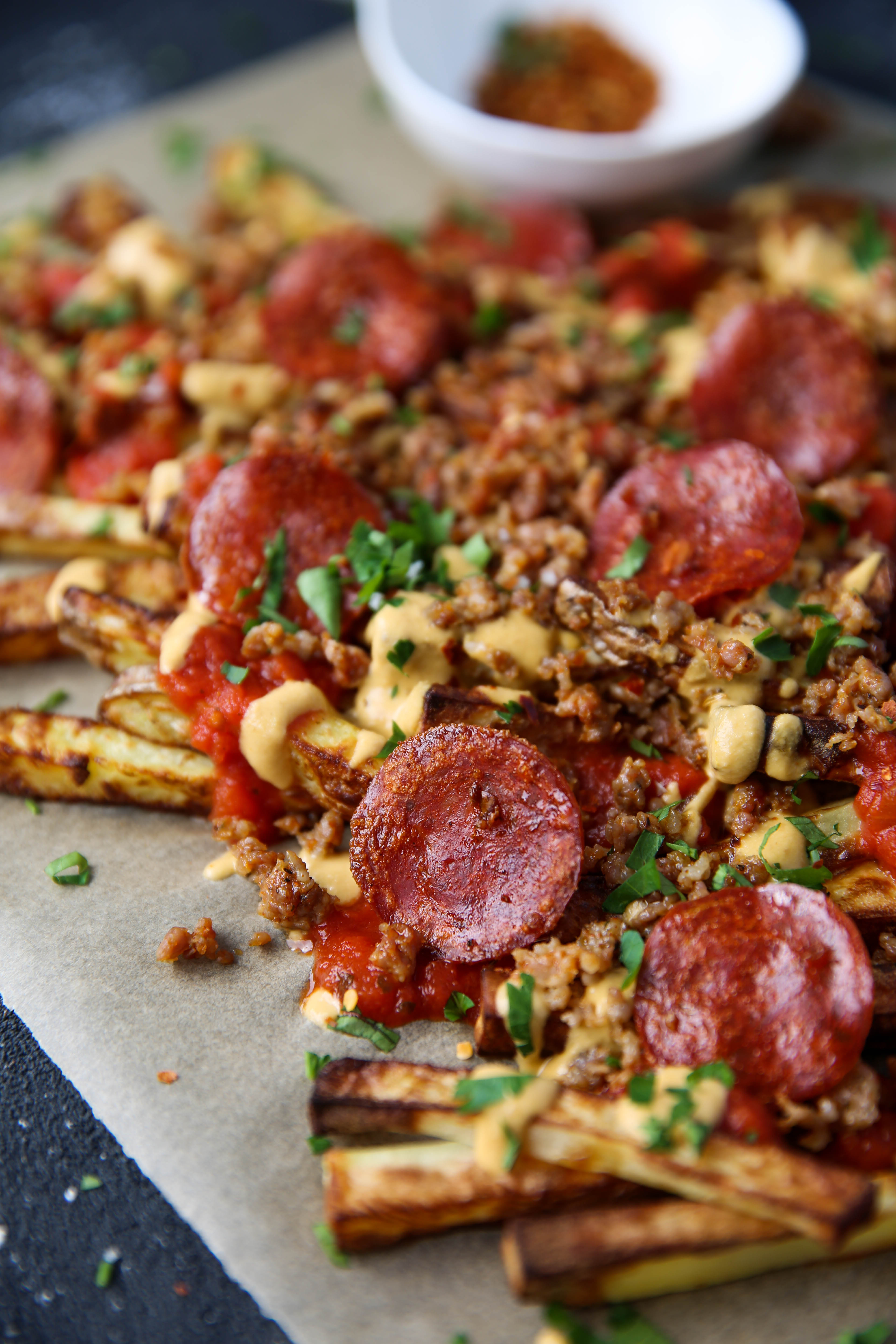 PaleOMG Pizza Fries