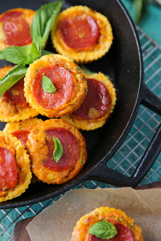 PaleOMG Pizza Egg Bites