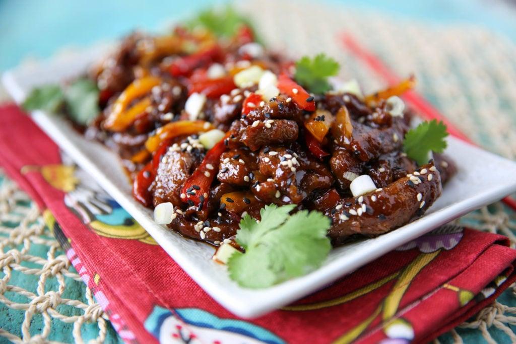 PaleOMG Ginger Beef Stir Fry