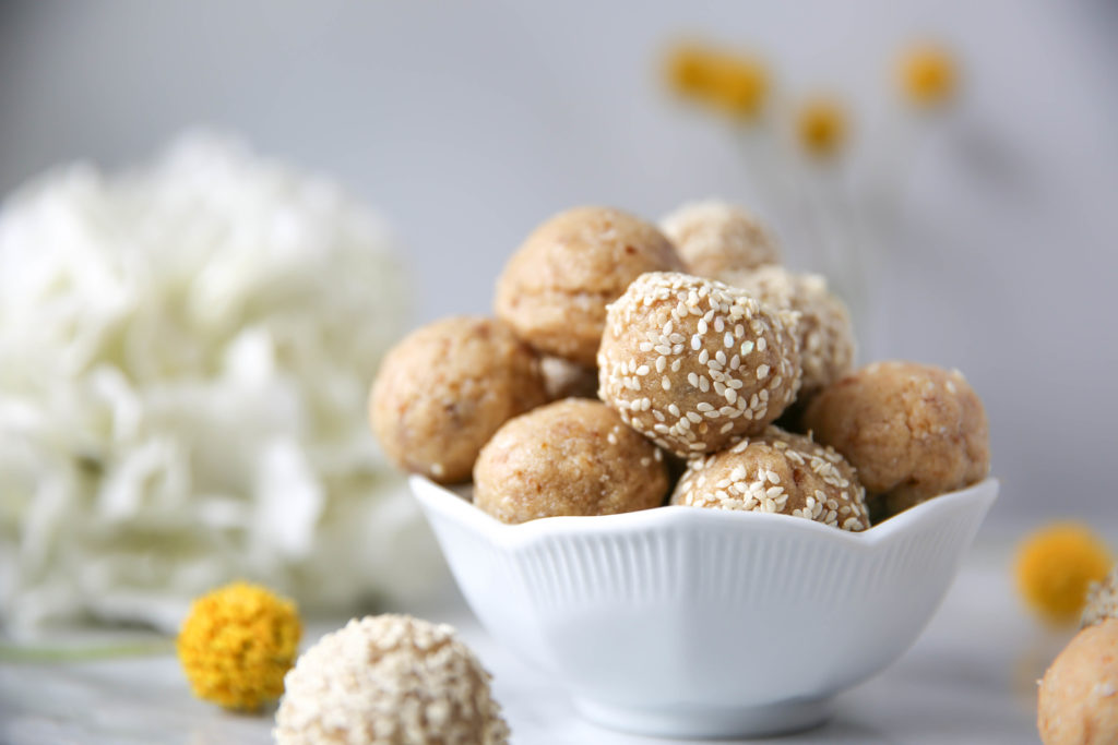 PaleOMG Tahini Honey Collagen Energy Balls