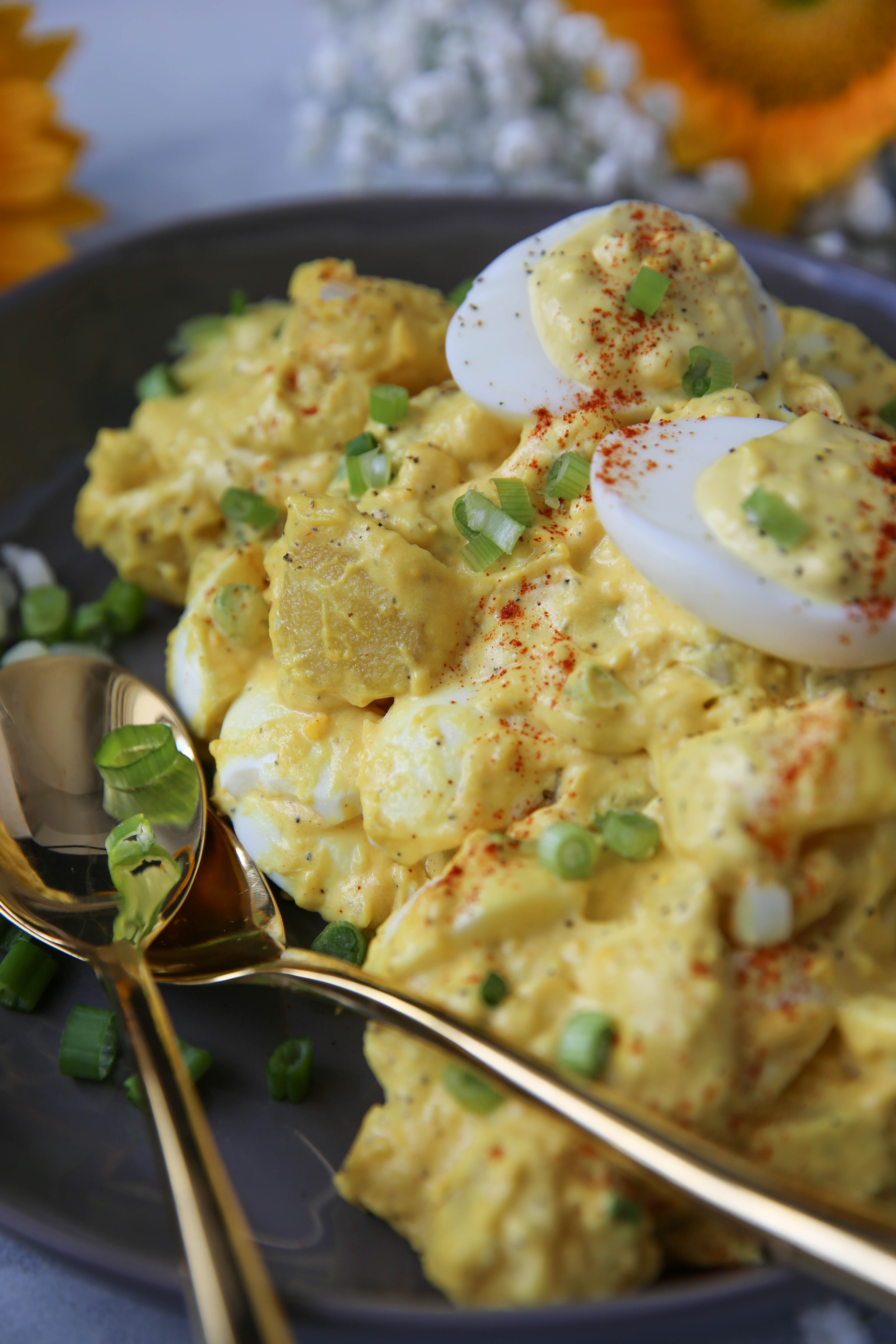 PaleOMG Deviled Egg Potato Salad