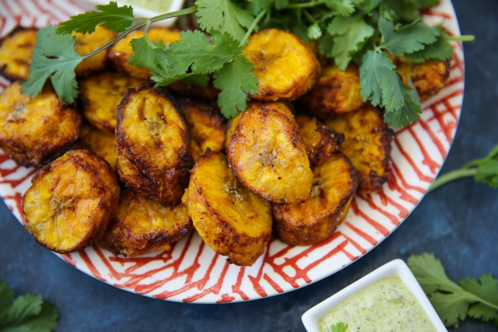 PaleOMG Air Fryer Sweet Plantains