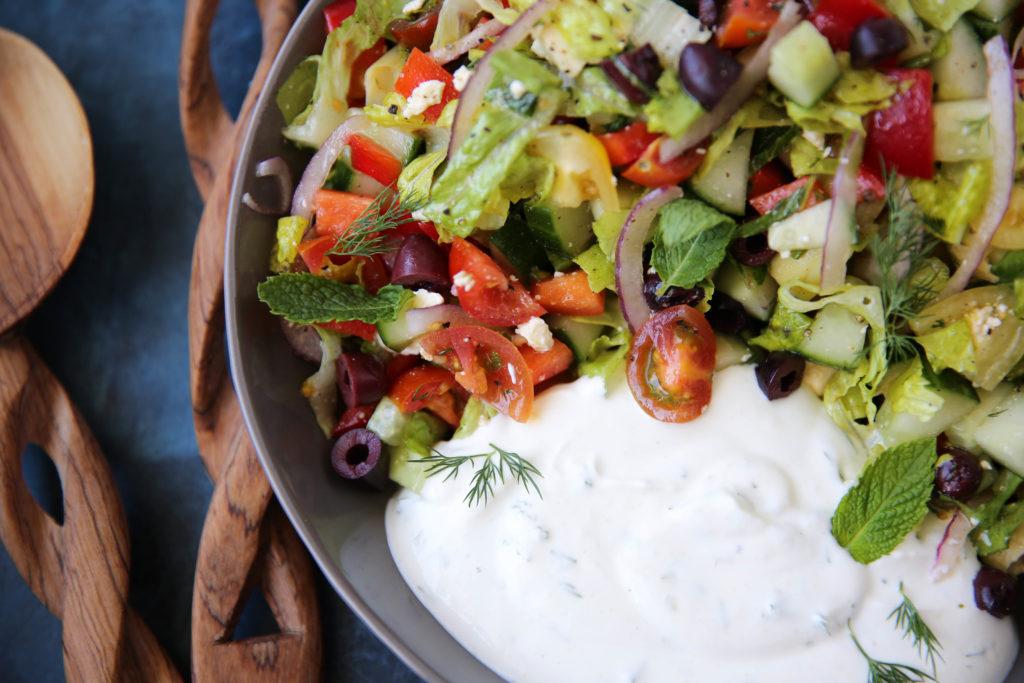 PaleOMG Mediterranean Salad