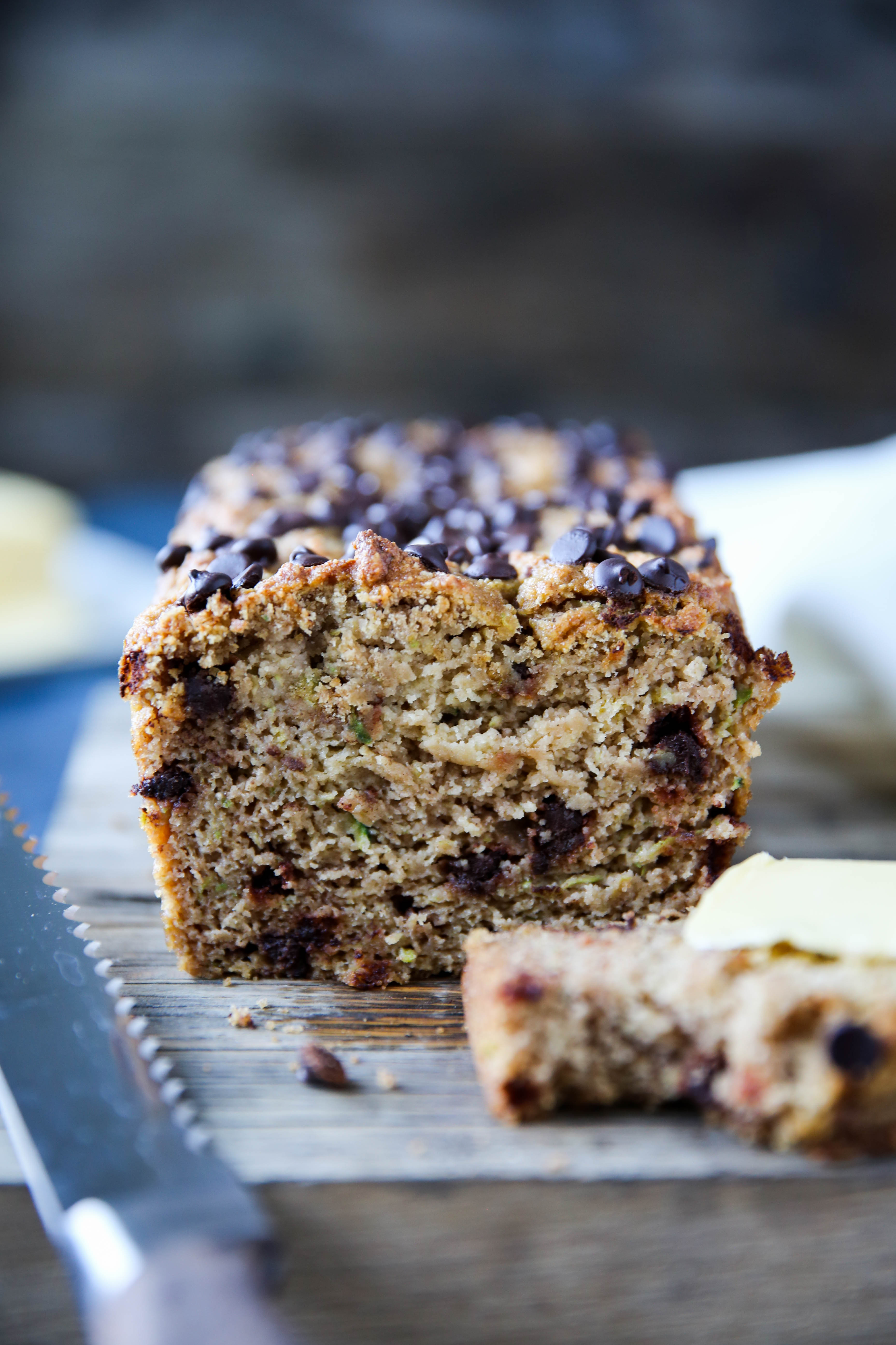 PaleOMG Chocolate Chip Zucchini Bread