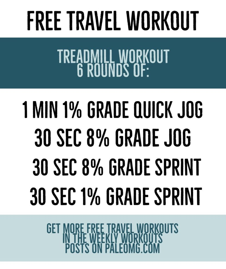 PaleOMG Free Travel Workout