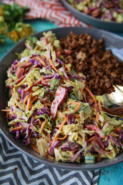 PaleOMG Asian Salad