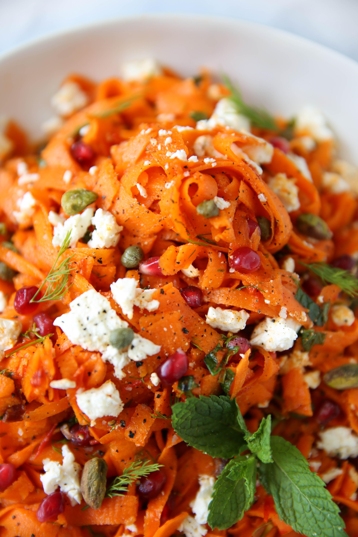 PaleOMG Harissa Carrot Salad