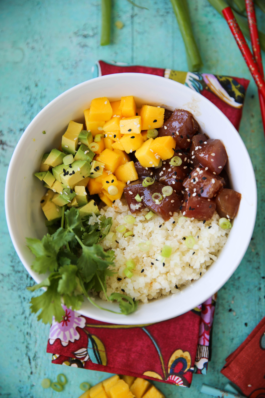PaleOMG Tuna Poké Bowls