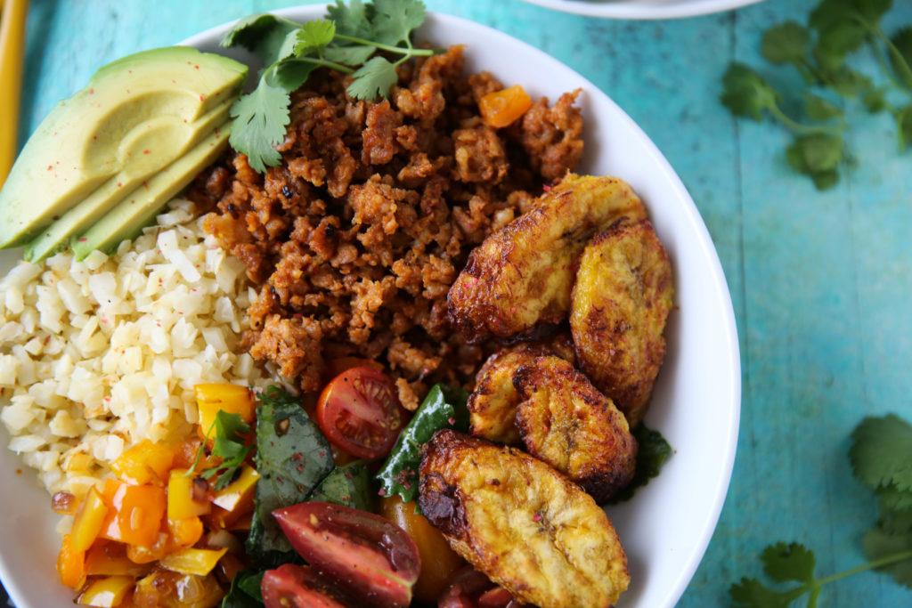 PaleOMG Chorizo Rice Bowls