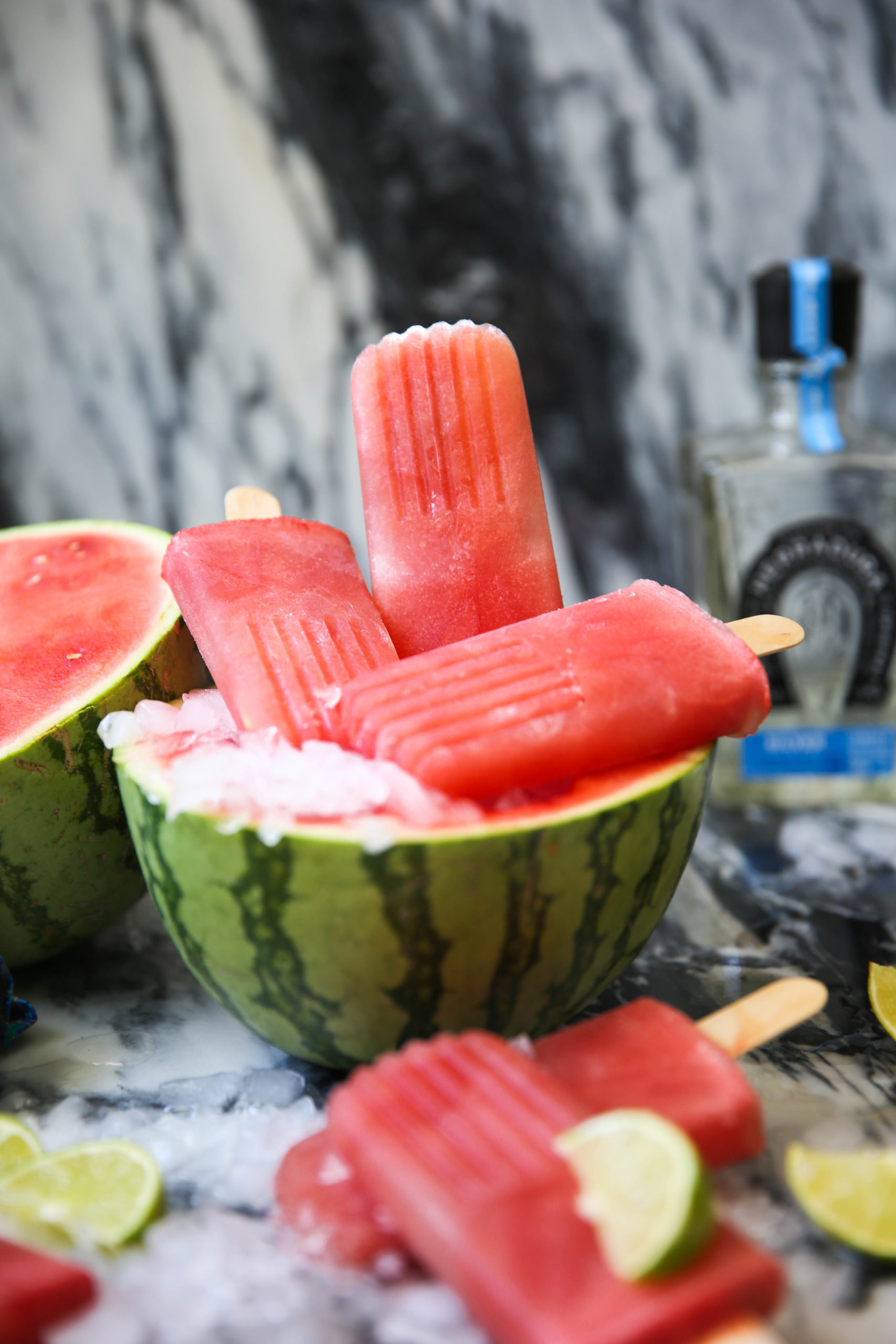 PaleOMG Watermelon Margarita Popsicles