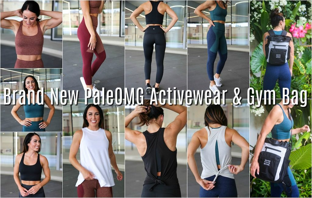 PaleOMG Activewear & Gym Bag