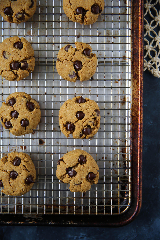 PaleOMG Egg-Free Pumpkin Chocolate Chip Cookies