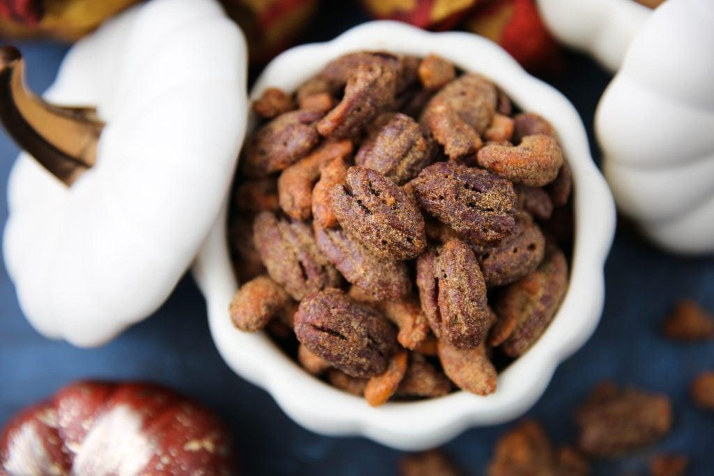 PaleOMG Pumpkin Spice Candied Nuts