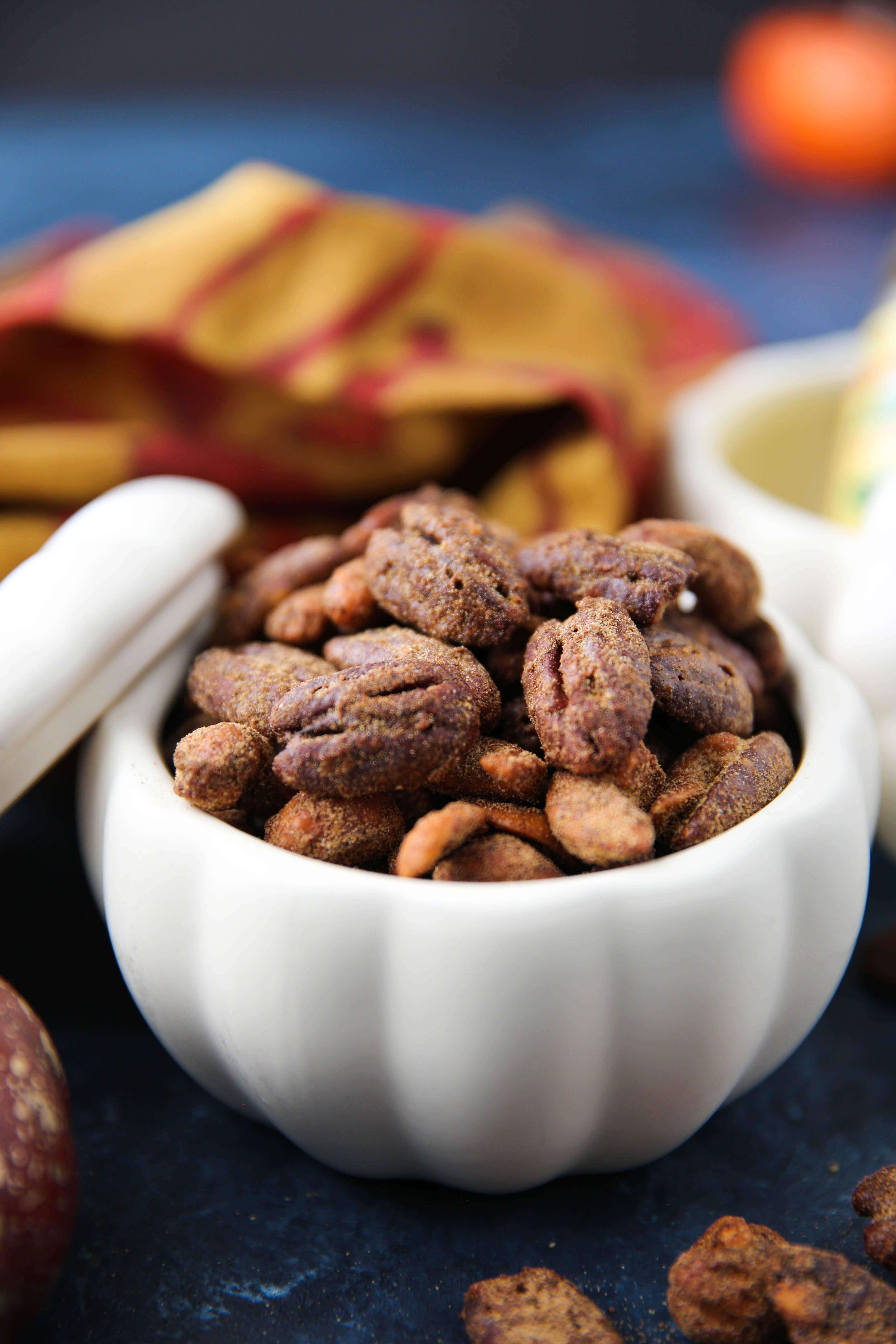 PaleOMG Pumpkin Spice Candied Nuts