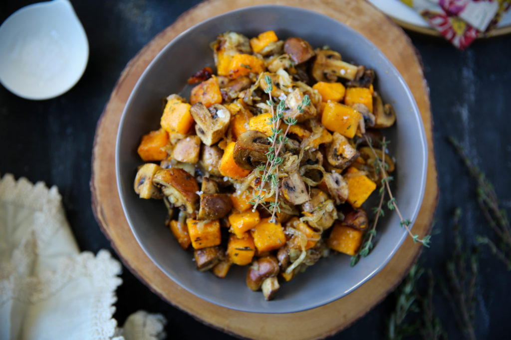 PaleOMG Fall Butternut Squash Salad