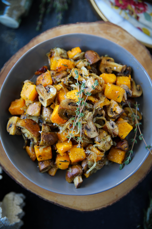 PaleOMG Fall Butternut Squash Salad