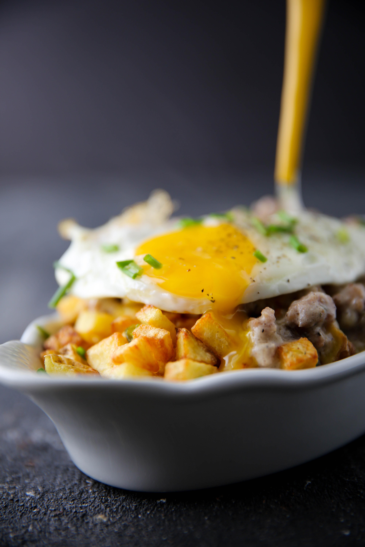 PaleOMG Breakfast Gravy Fries