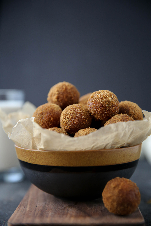 PaleOMG Cinnamon Sugar Pumpkin Donut Holes
