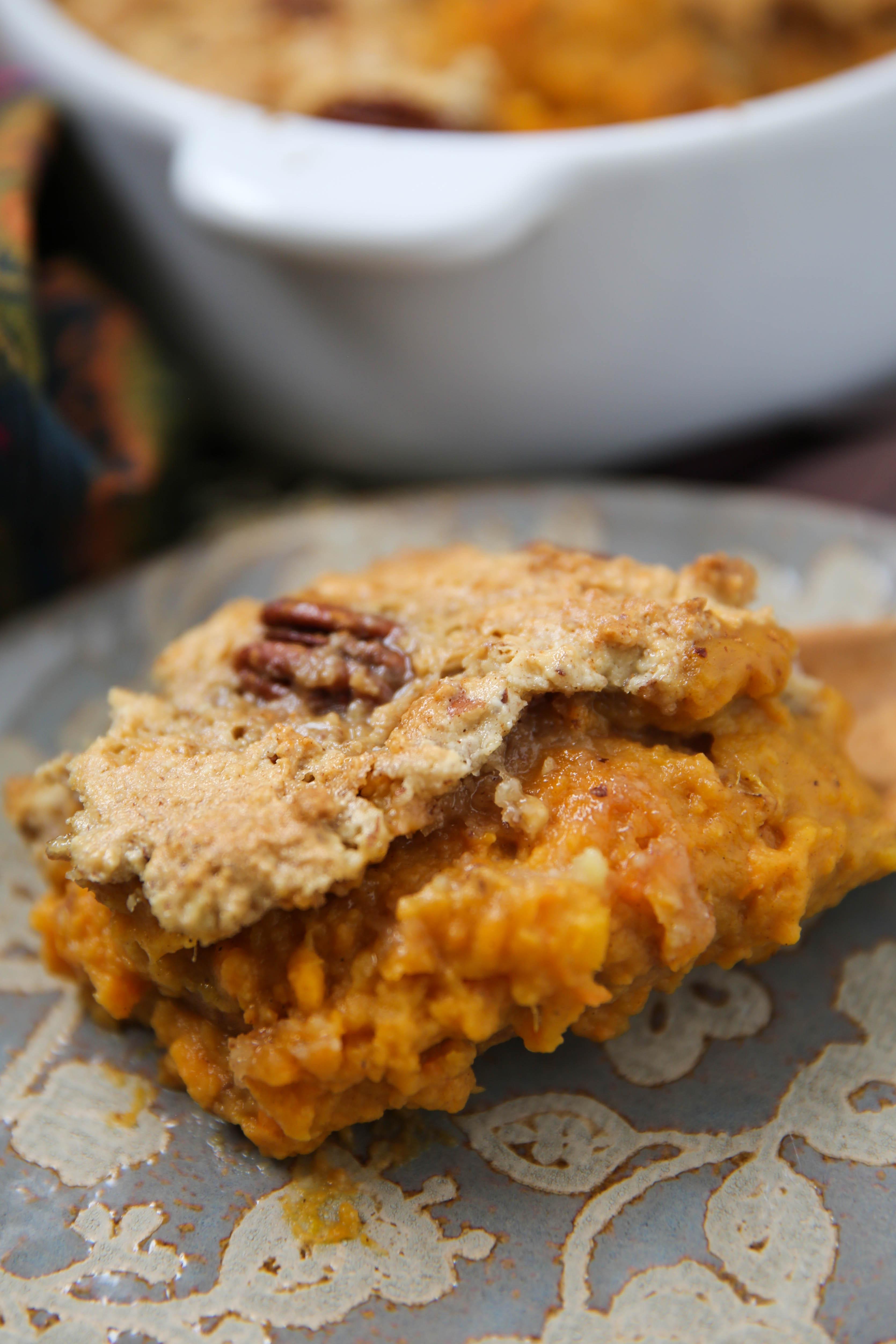 PaleOMG Sweet Potato Casserole