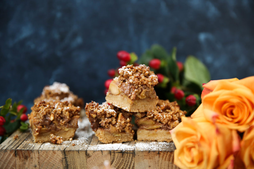PaleOMG Apple Pie Cookie Bars