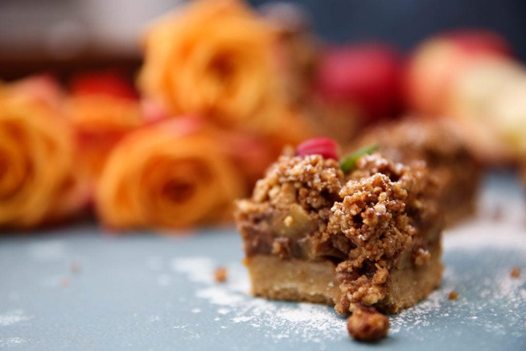 PaleOMG Apple Pie Cookie Bars
