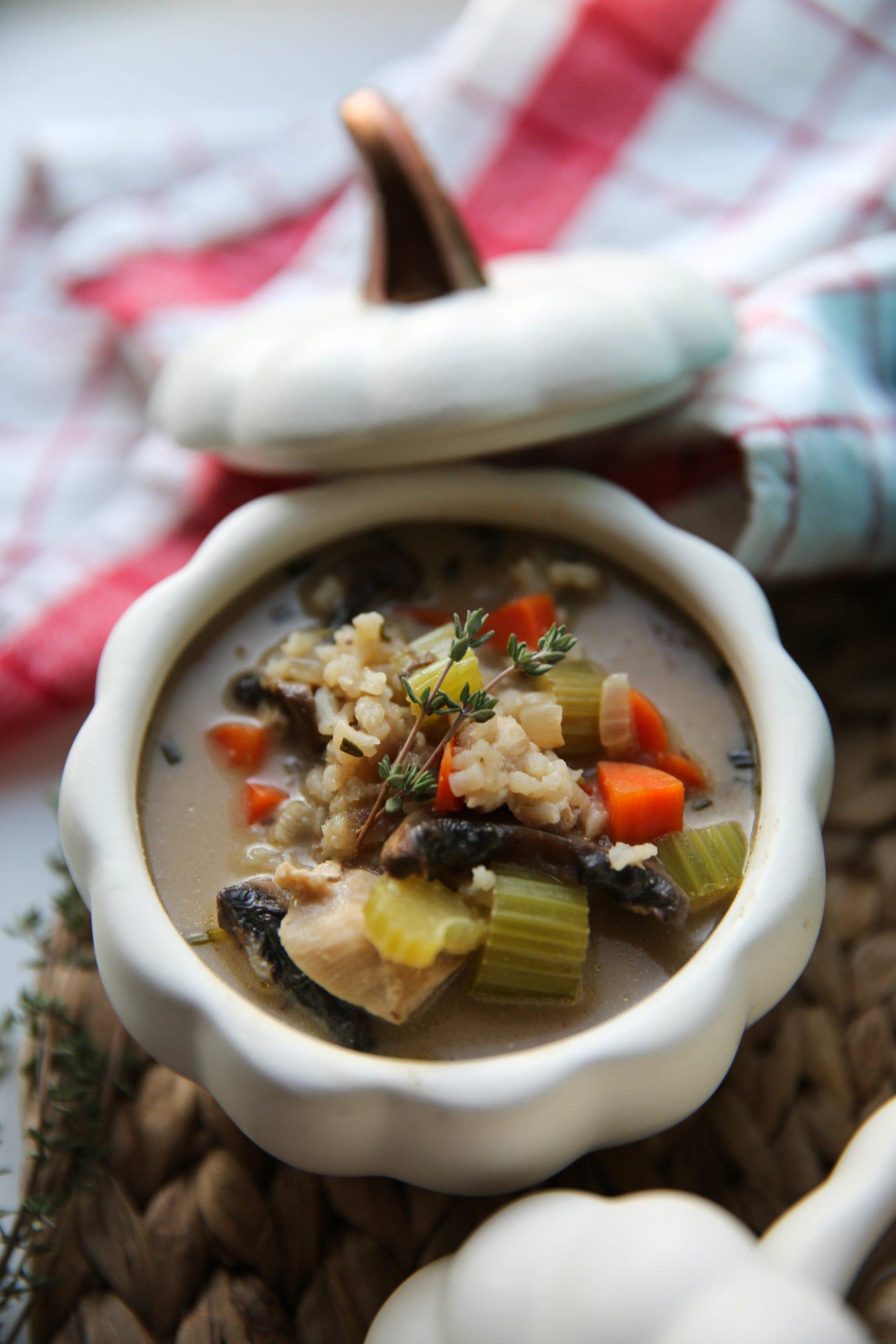 PaleOMG Chicken Rice Soup