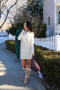 PaleOMG Changing Up Your Winter Wardrobe With a Sweater Dress