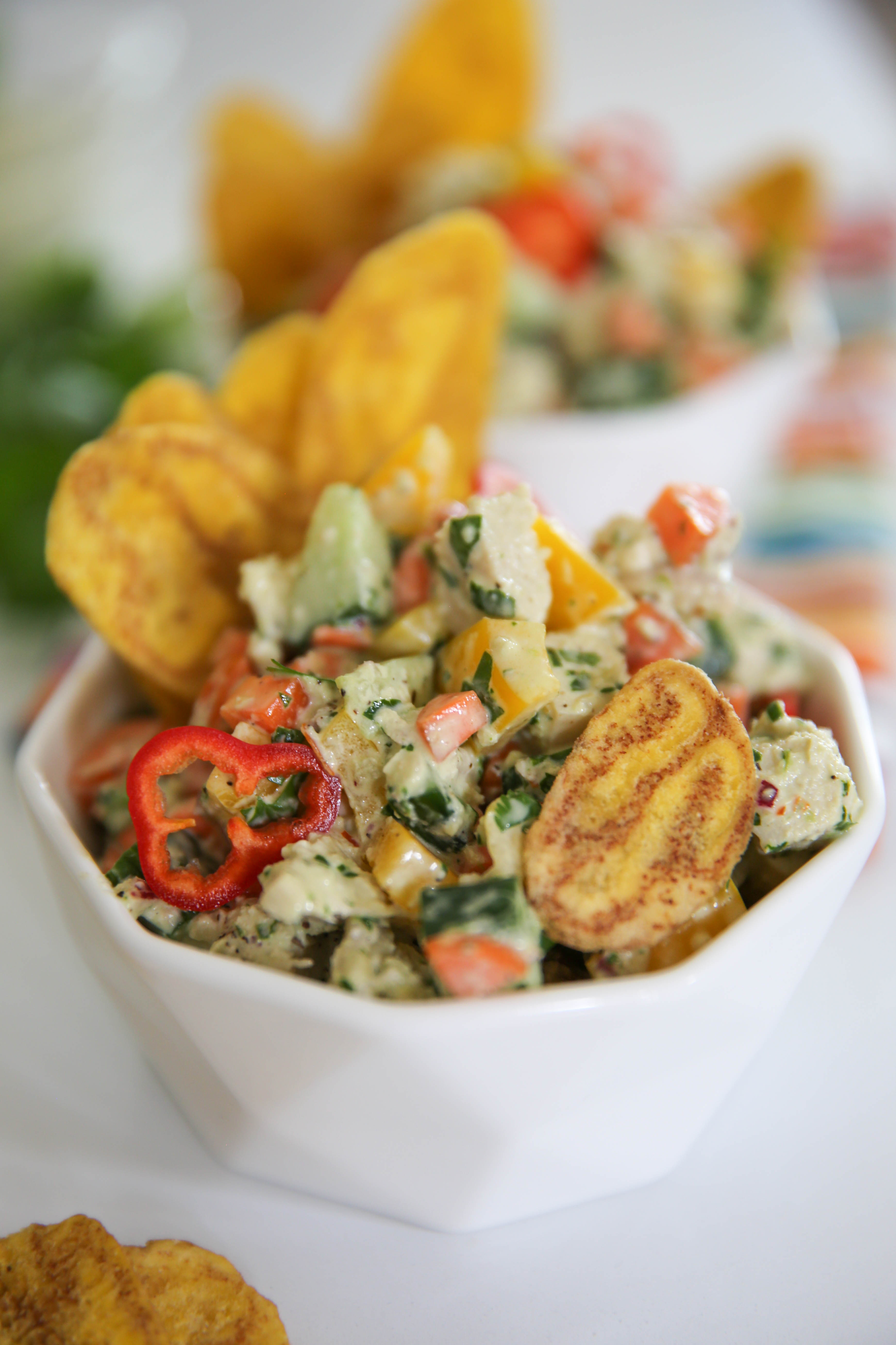 PaleOMG Chimichurri Chicken Salad