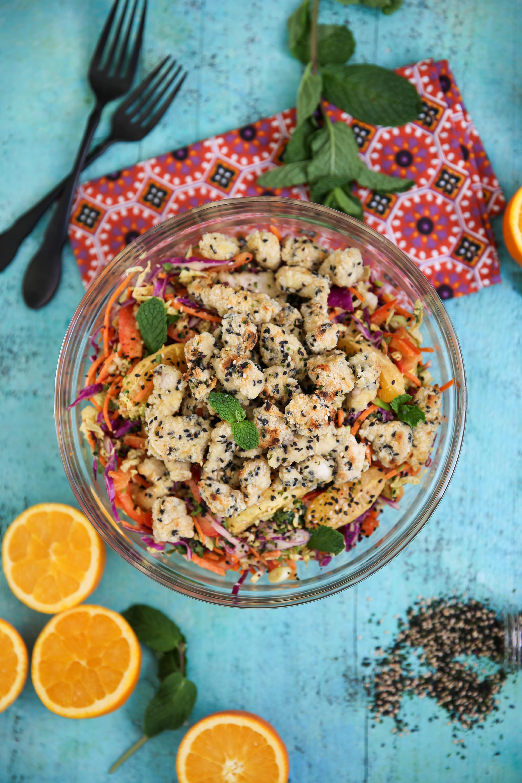 PaleOMG Sesame Chicken Crunch Salad