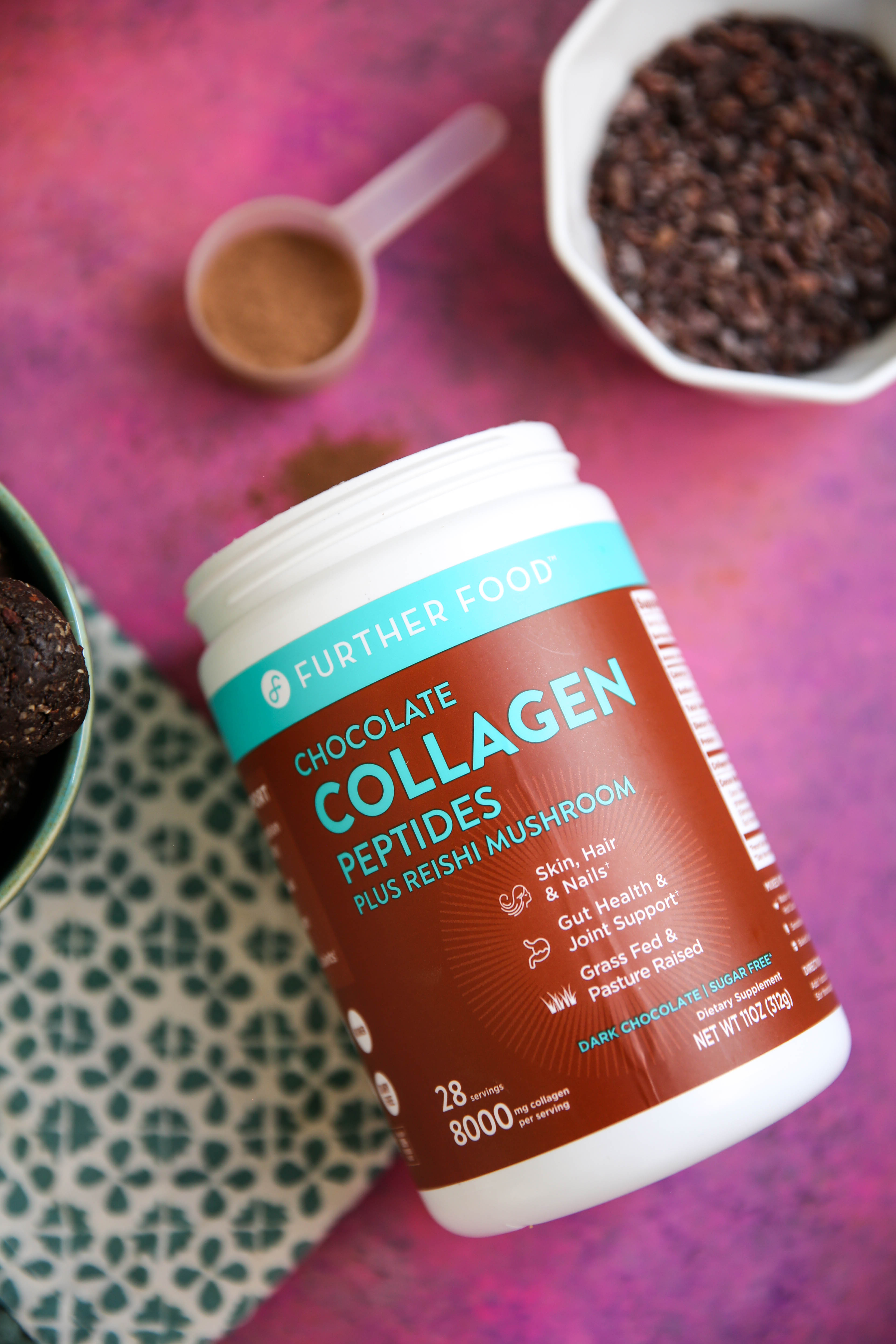 PaleOMG Chocolate Collagen Energy Balls