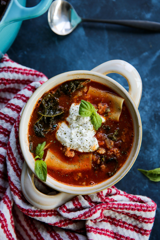 PaleOMG Lasagna Soup