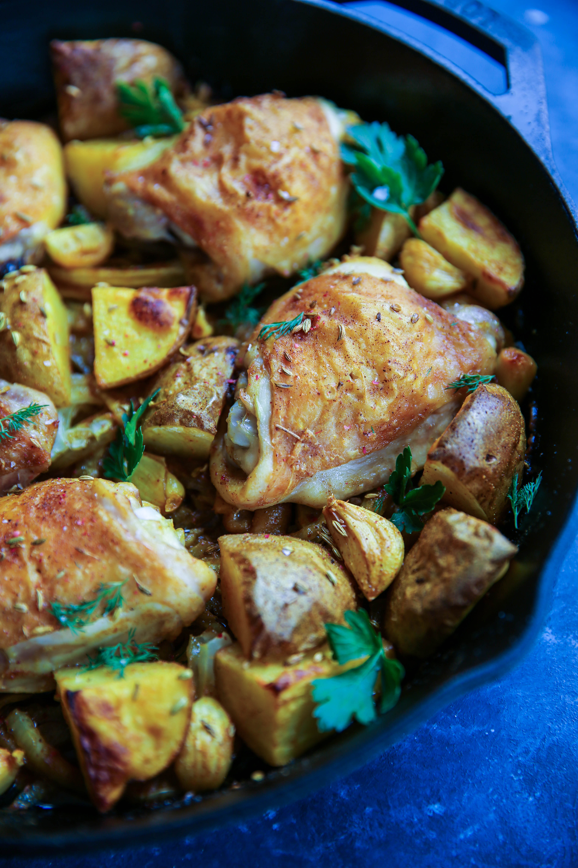PaleOMG One-Pan Turmeric Chicken