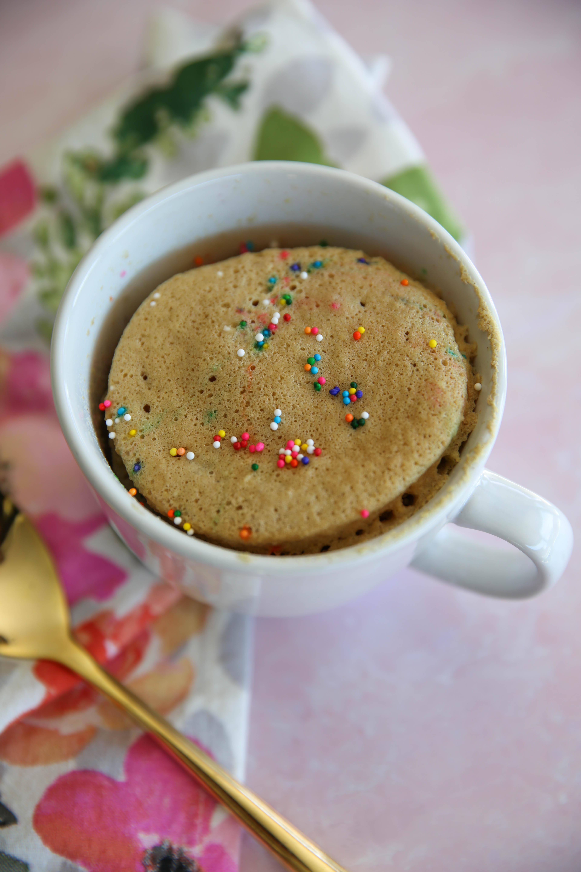 PaleOMG Funfetti Mug Cake