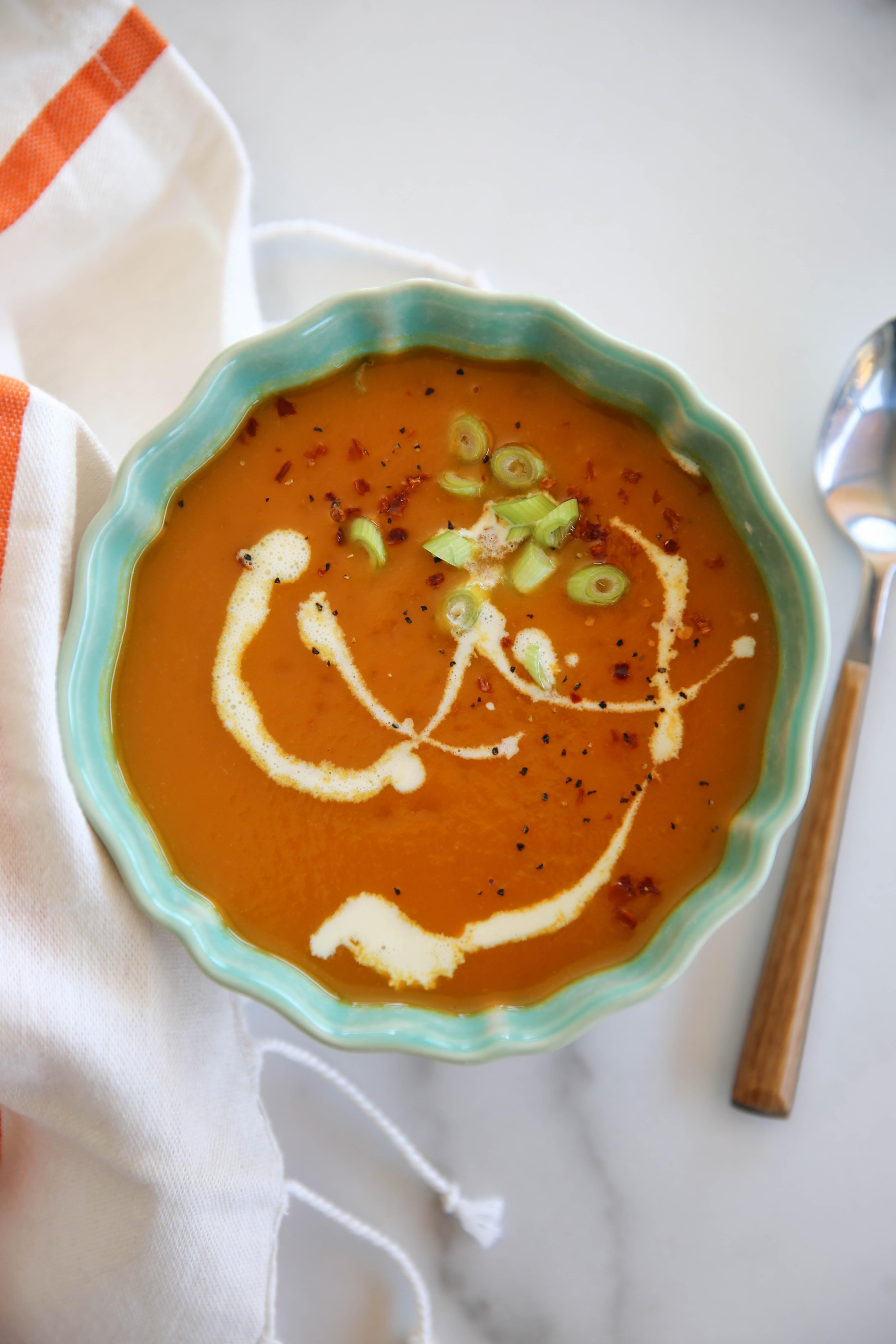 PaleOMG Instant Pot Carrot Soup
