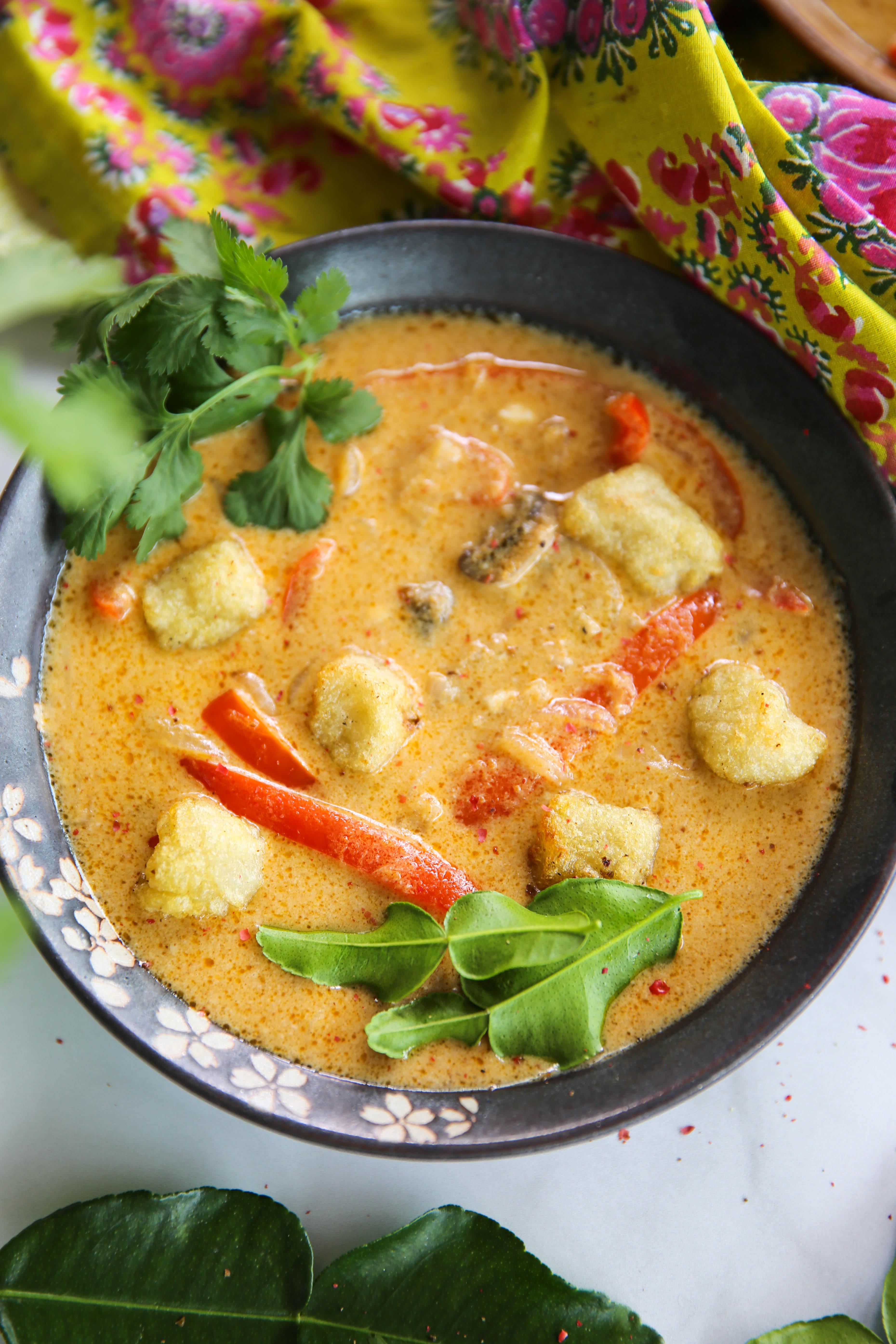 PaleOMG Red Thai Curry Gnocchi