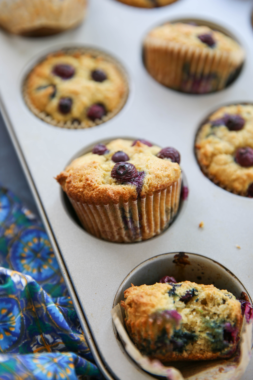 PaleOMG Blueberry Zucchini Muffins