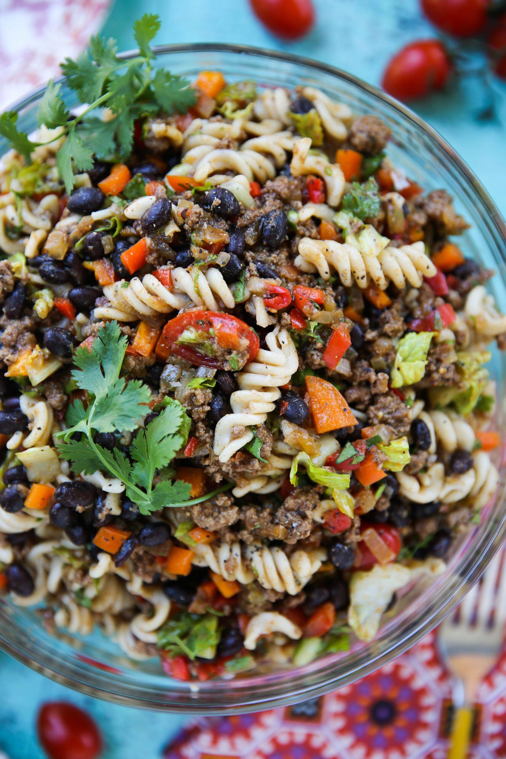 PaleOMG Taco Pasta Salad